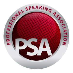 Proud members of The Professional Speakers Association.